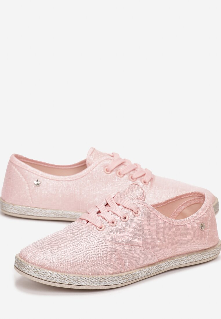 Różowe Tenisówki Yanna