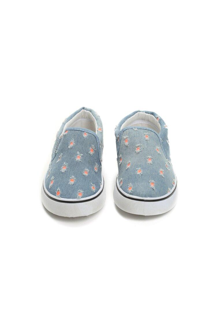Niebieskie Slip On Browen