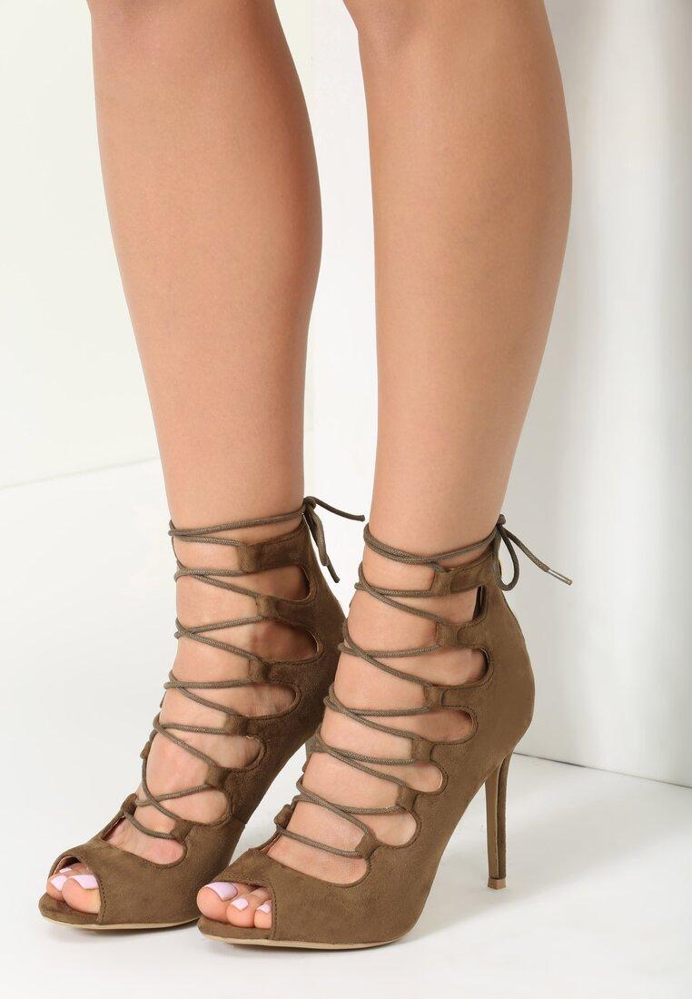 Khaki Sandały Madeline