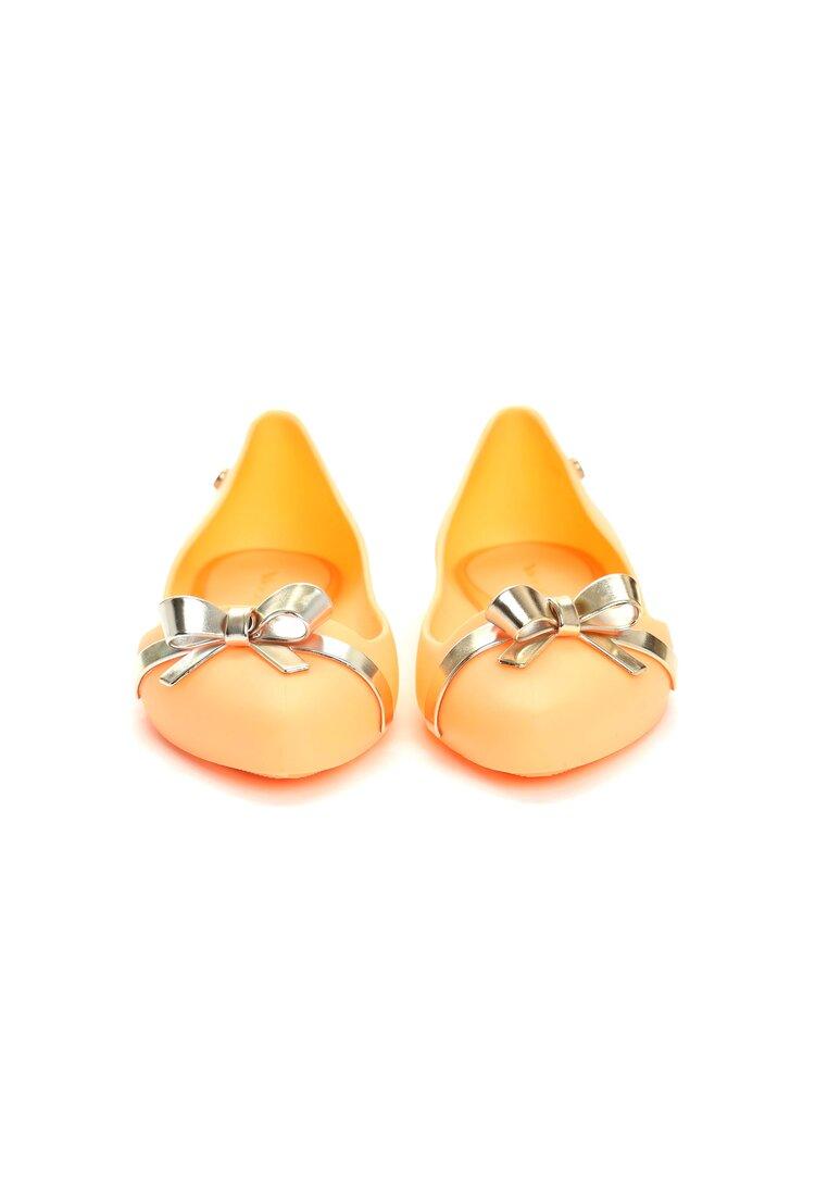 Pomarańczowe Balerinki Quince Job