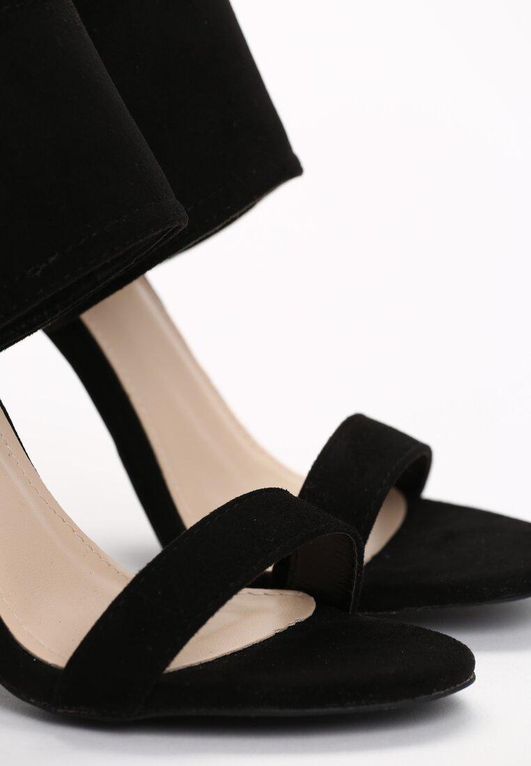 Czarne Sandały Albida