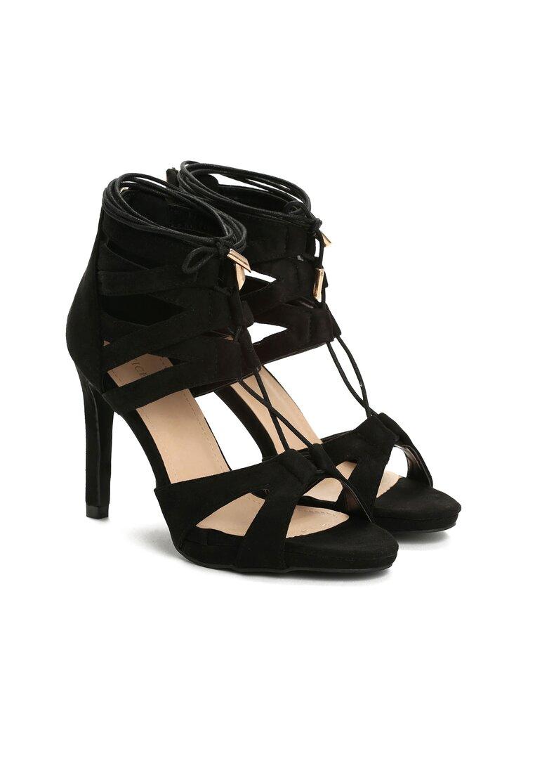 Czarne Sandały Marcelo