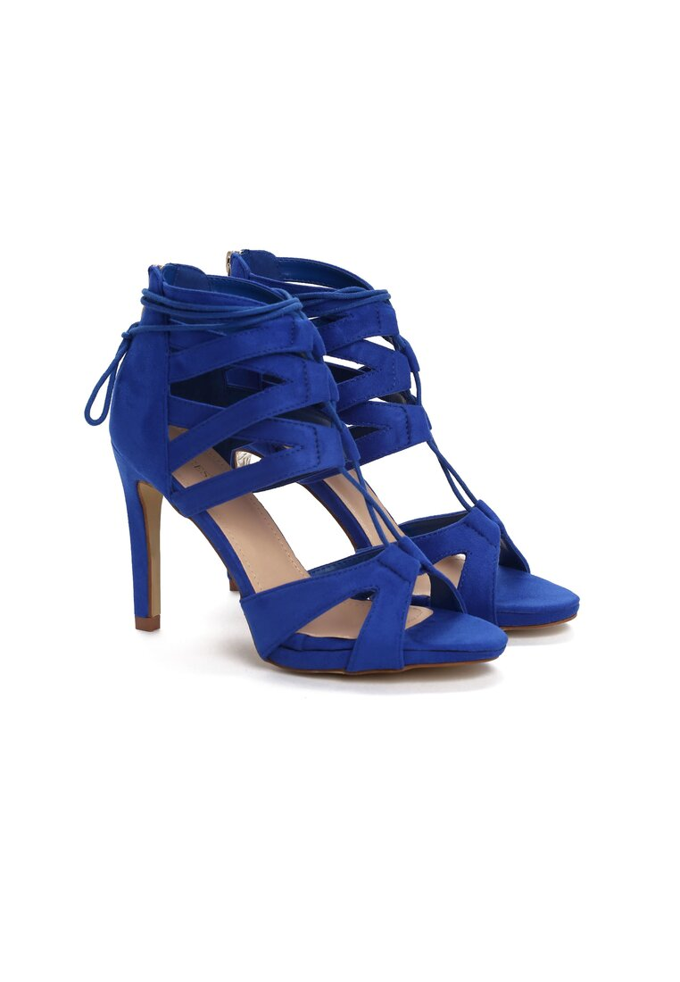 Kobaltowe Sandały Marcelo