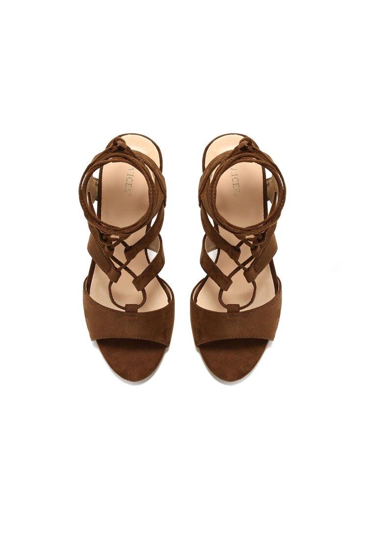Brązowe Sandały Ardino