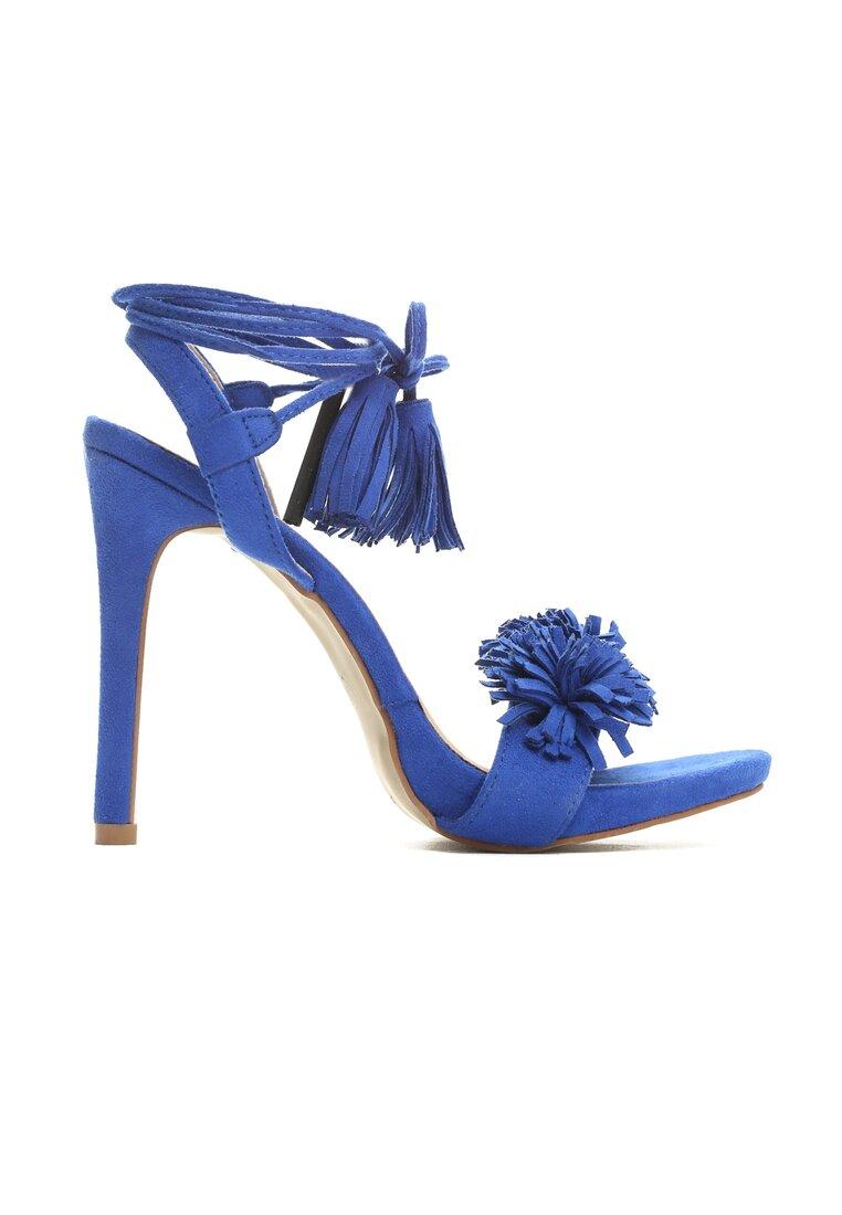 Niebieskie Sandały Lazy
