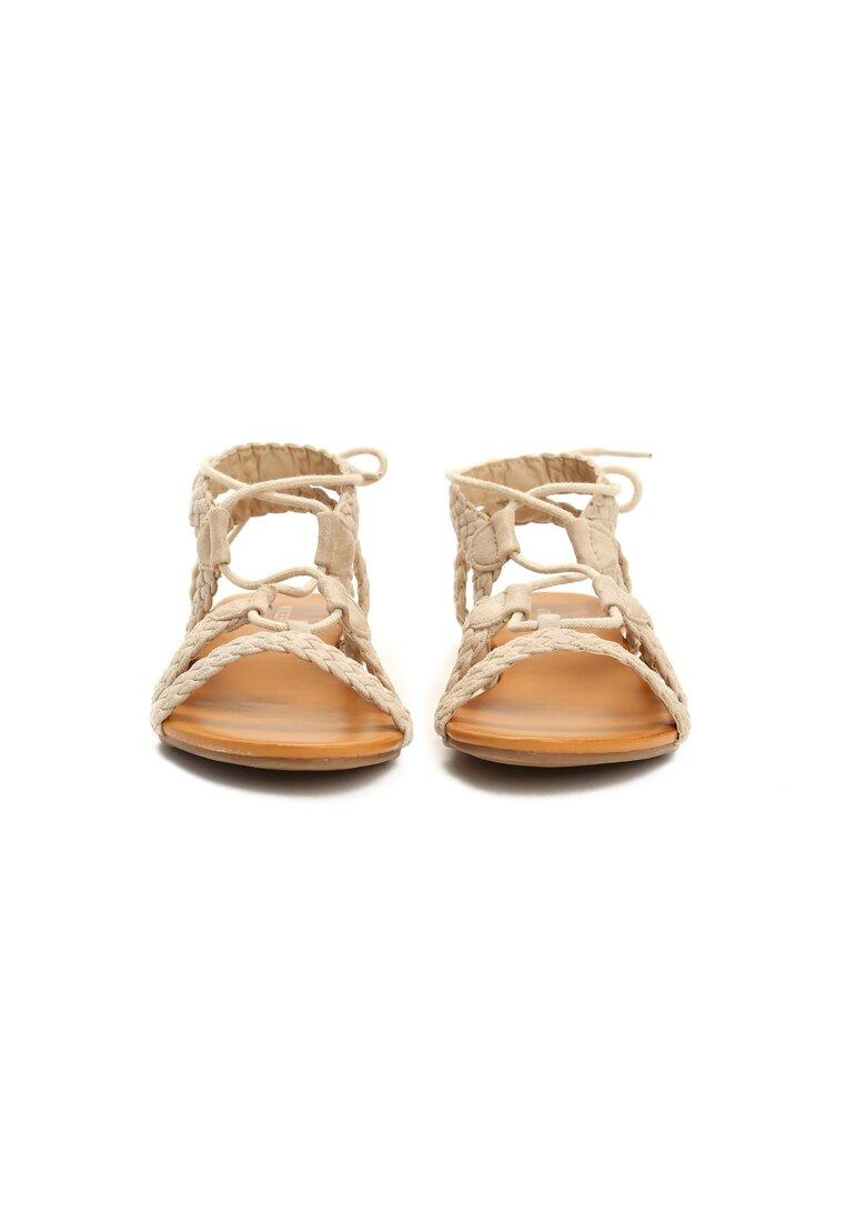 Beżowe Sandały Rhian