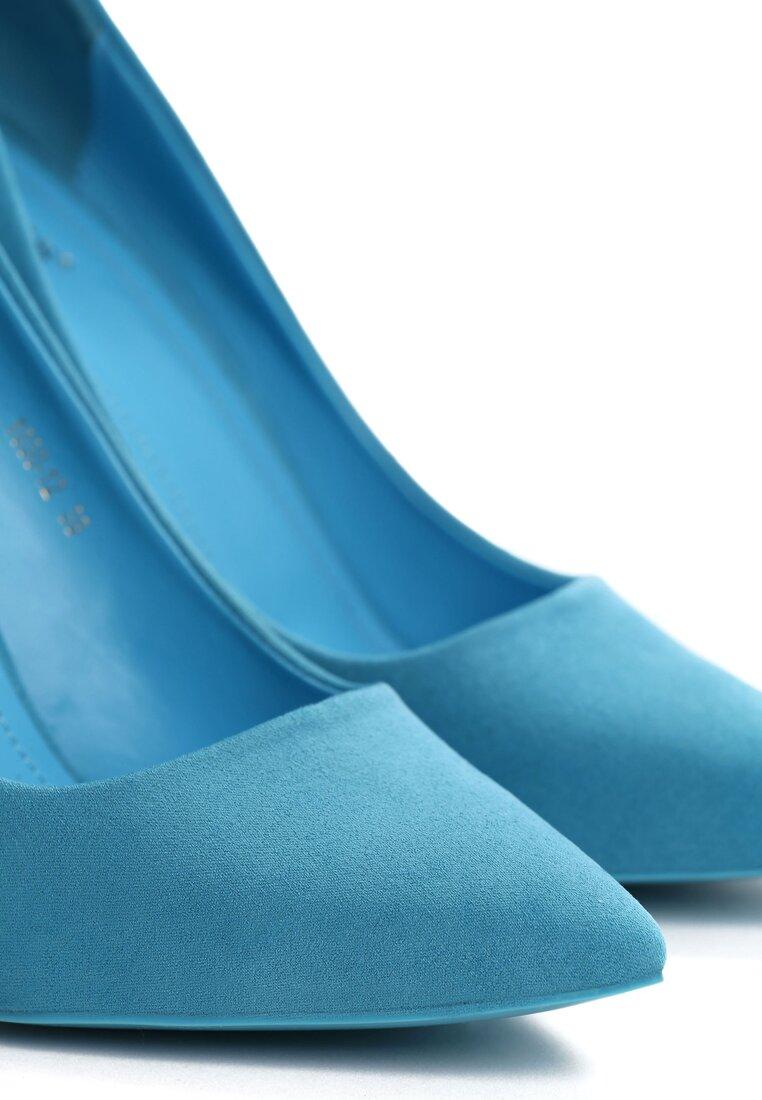 Niebieskie Szpilki Edelweiss