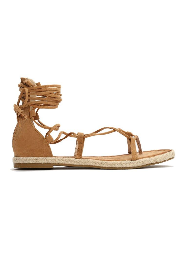 Ciemno-Beżowe Sandały Primrose