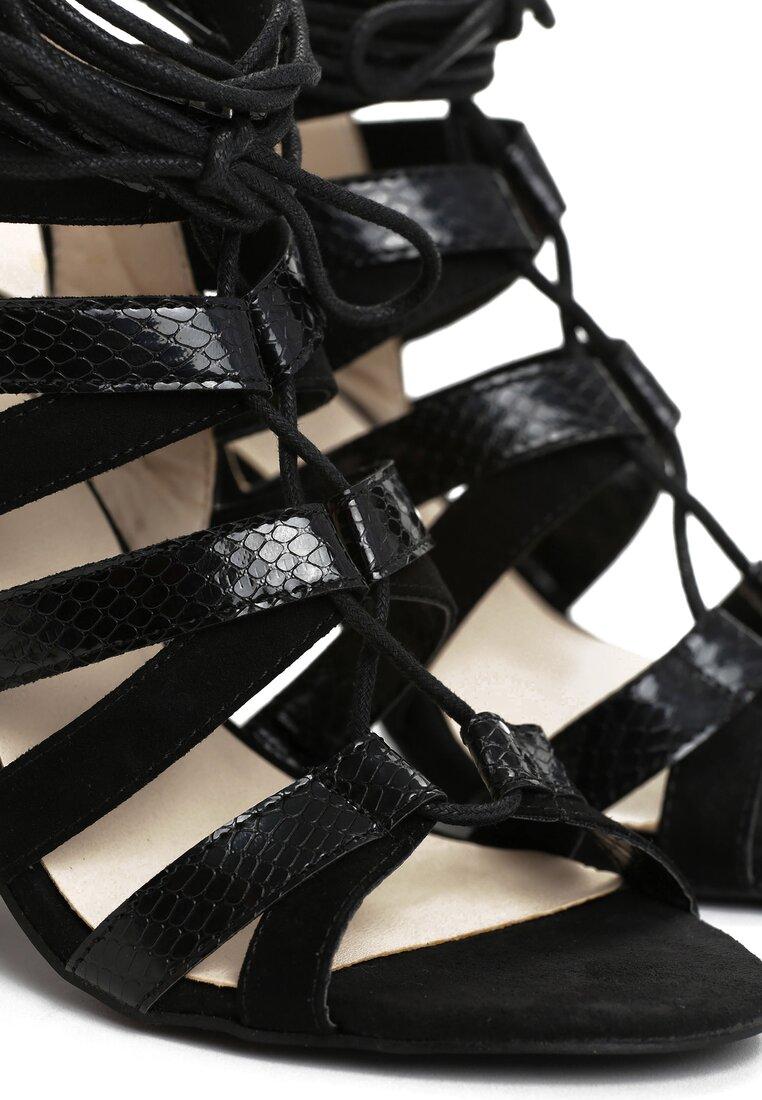 Czarne Sandały Avium