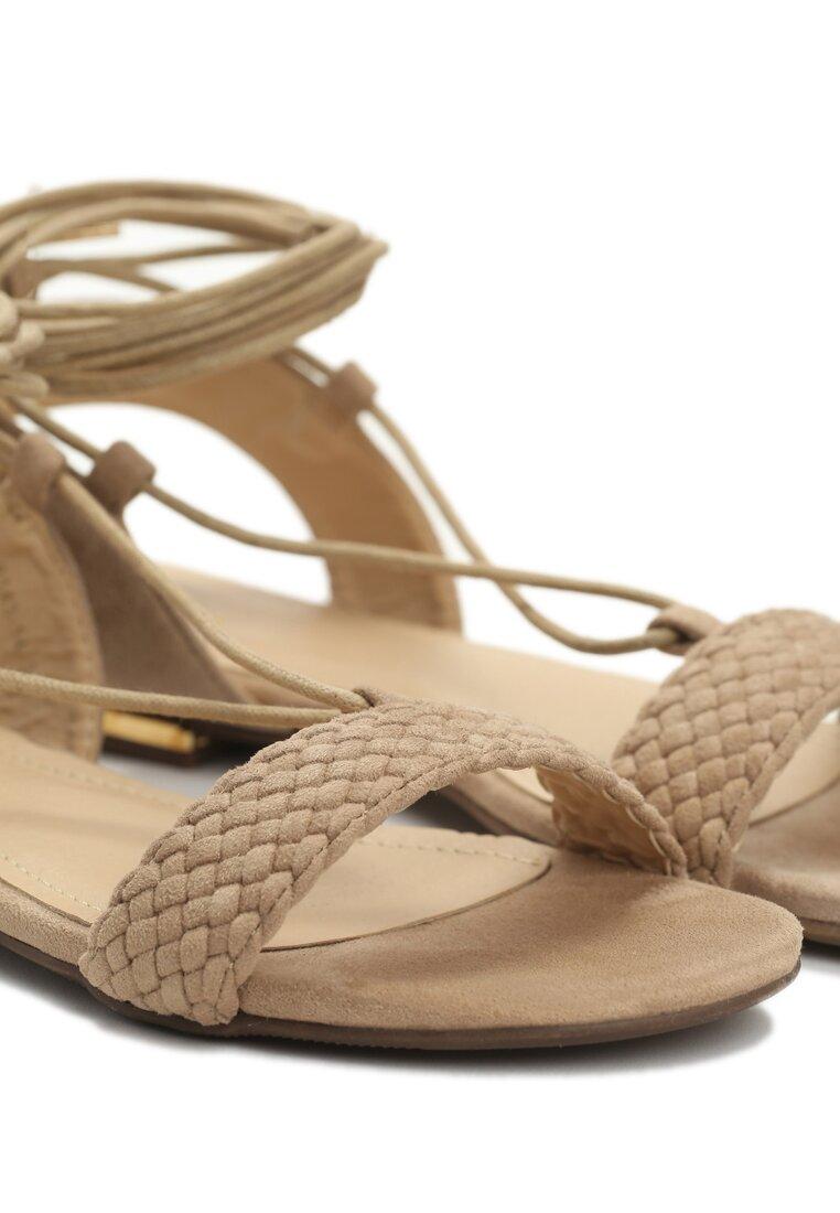 Beżowe Sandały Tuva