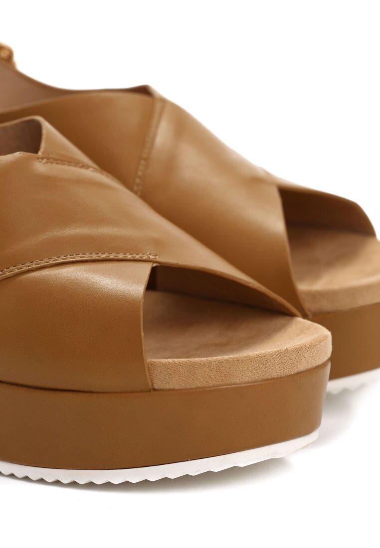 Beżowe Sandały Signe