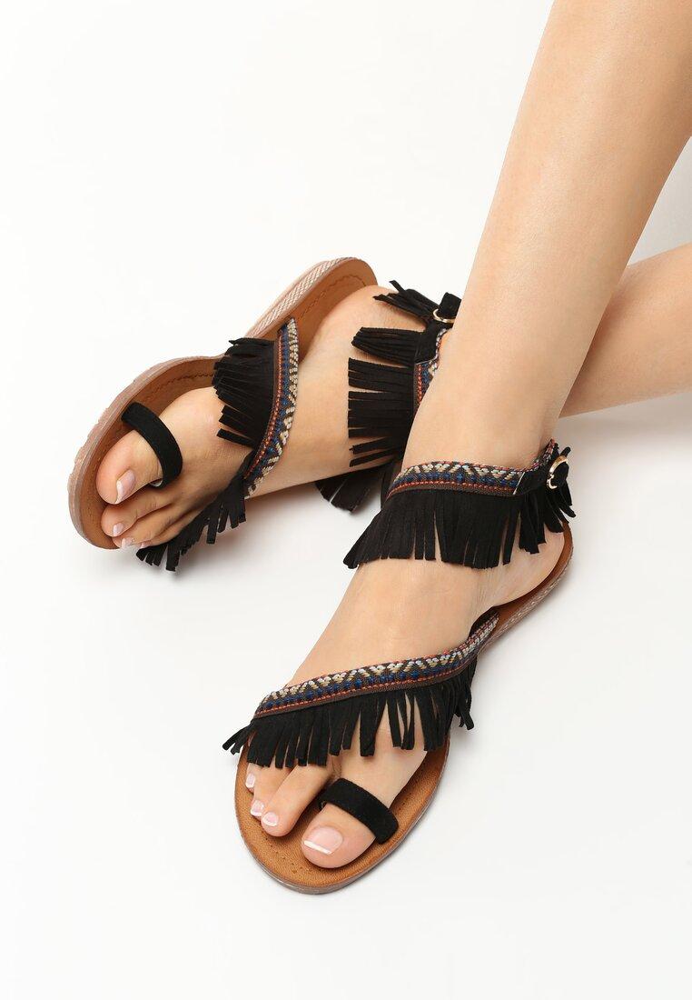 Czarne Sandały Other Side