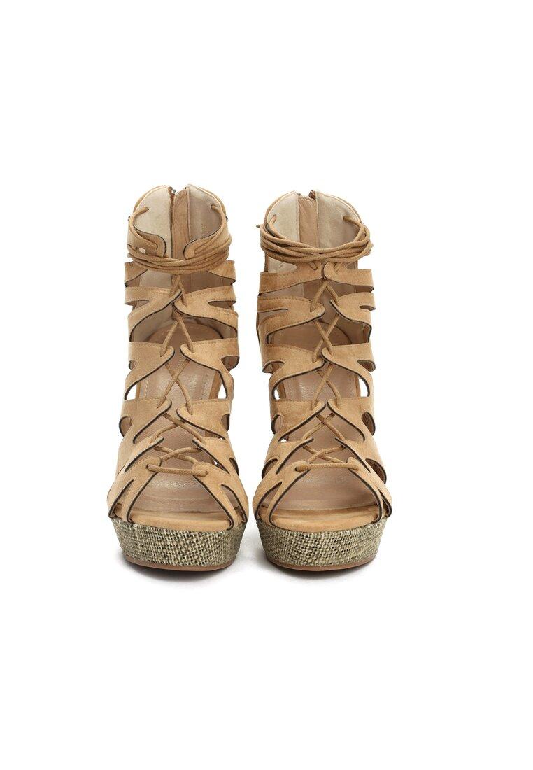 Beżowe Sandały Polly