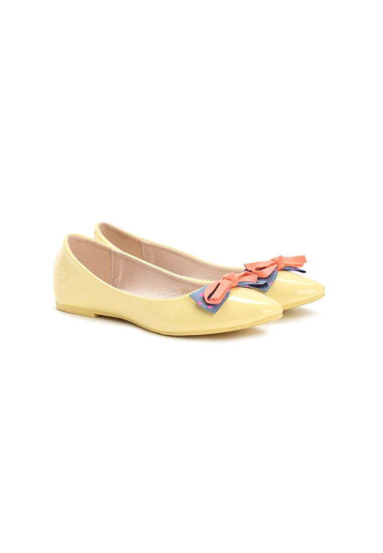 Żółte Balerinki Piccolo