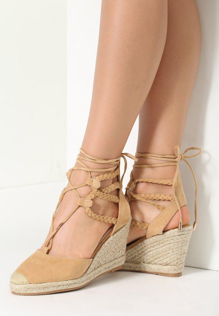Beżowe Sandały Cami