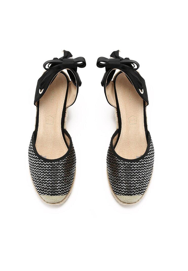 Czarne Sandały Dolly