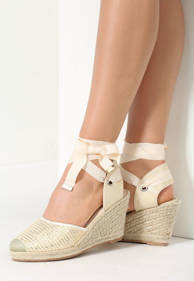 Beżowe Sandały Lilac