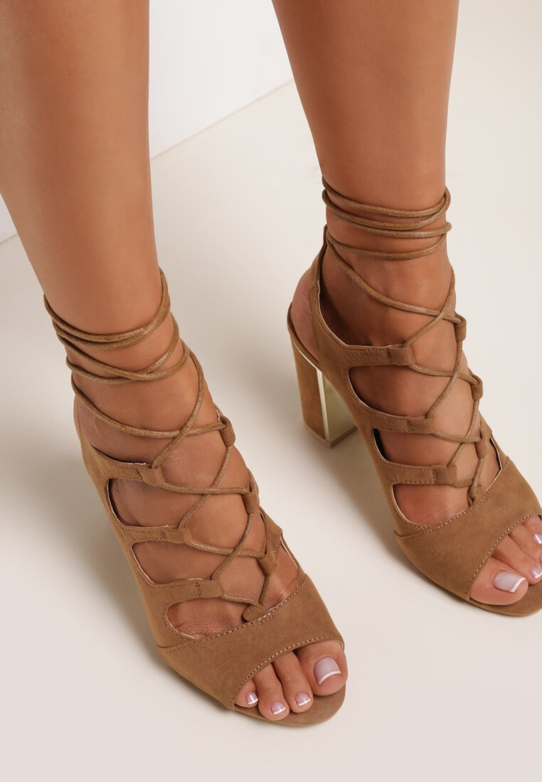 Brązowe Sandały Lagales