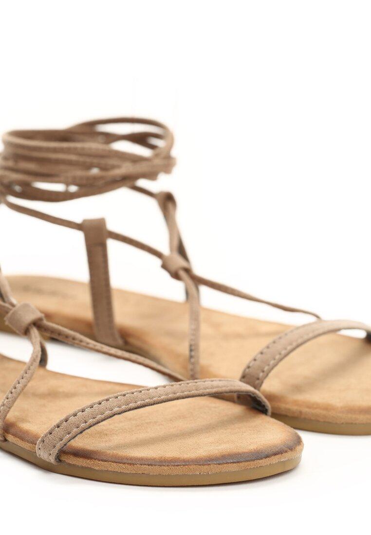 Khaki Sandały Brandi