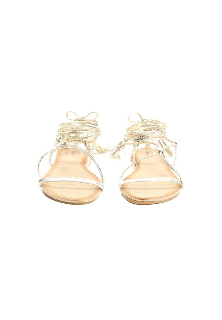Złote Sandały Brandi