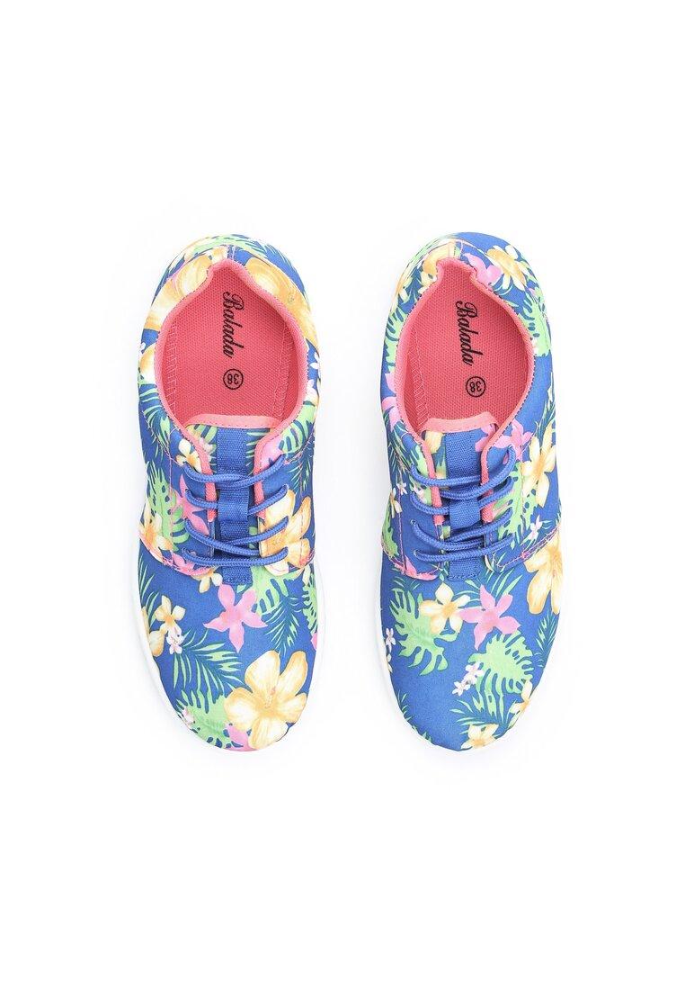 Niebieskie Buty Sportowe Aurora