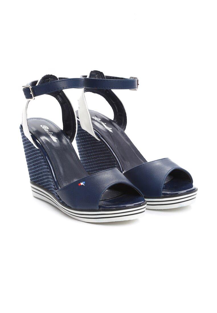 Niebieskie Sandały Work It Out