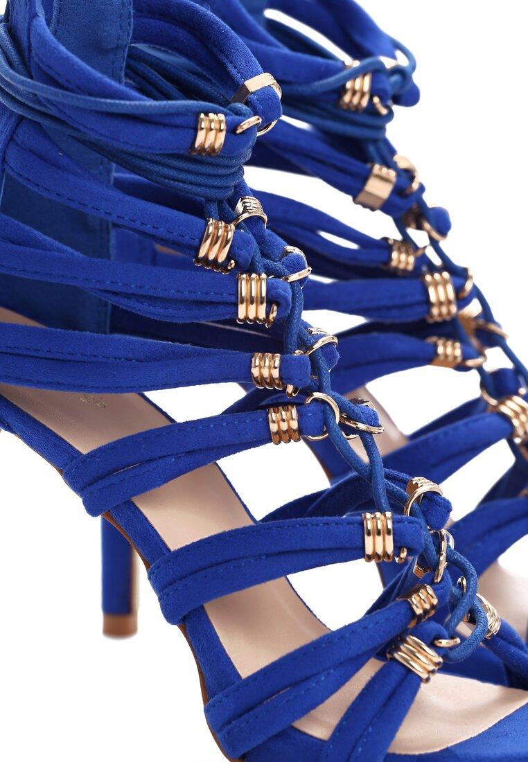 Kobaltowe Sandały Trinity