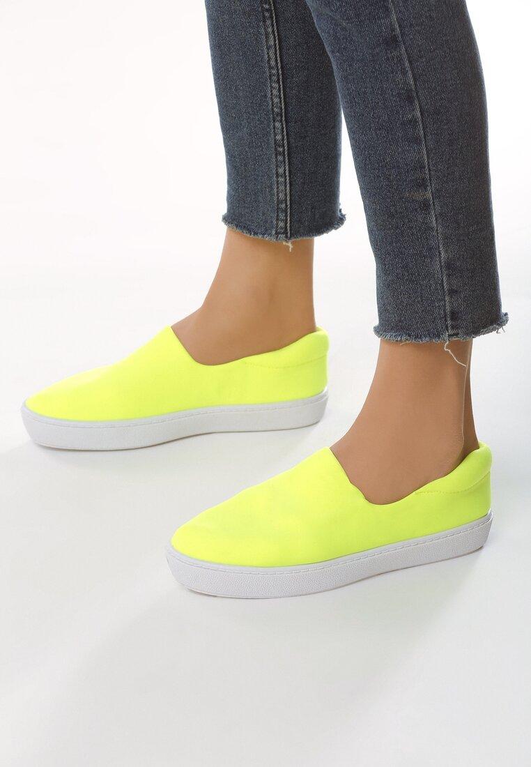 Żółte Slip On Arda
