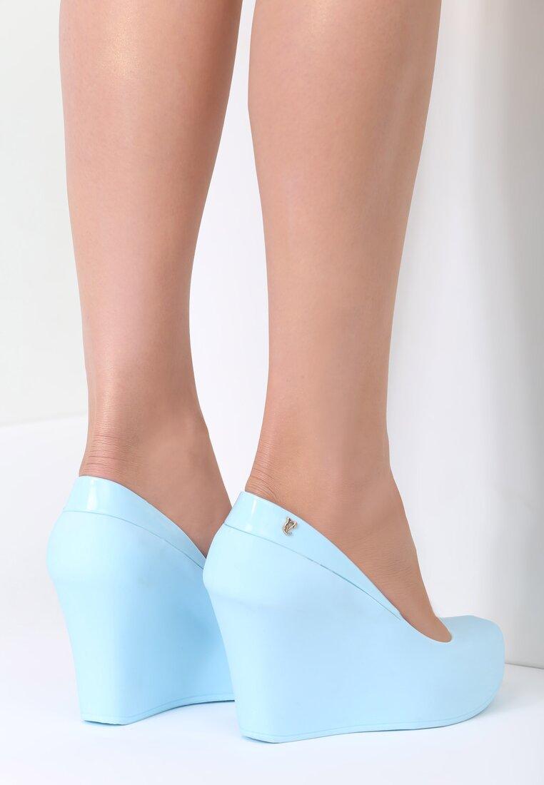 Niebieskie Koturny Tulip Girl