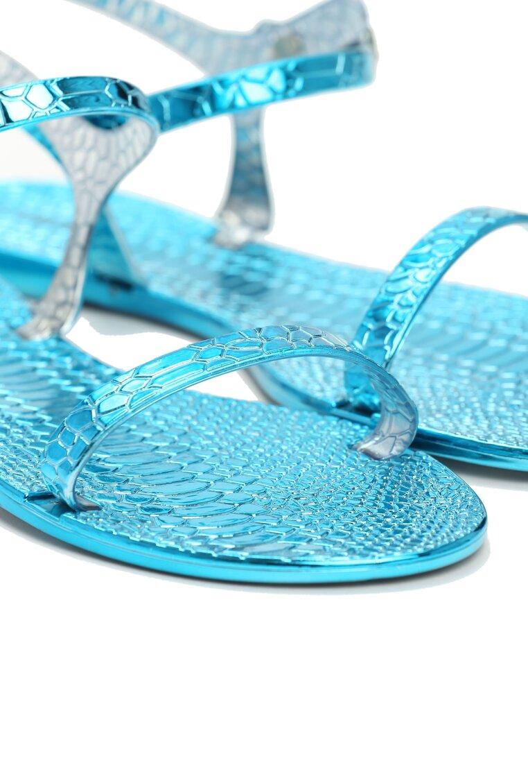 Niebieskie Sandały Amity