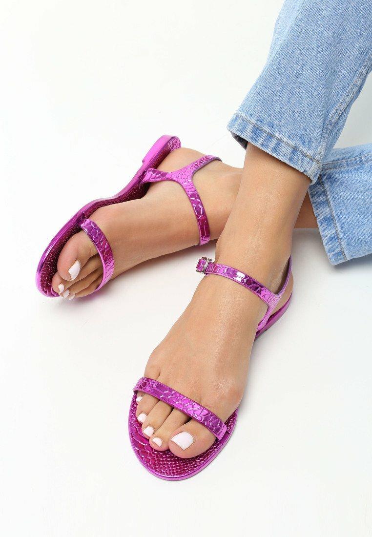 Fuksjowe Sandały Amity