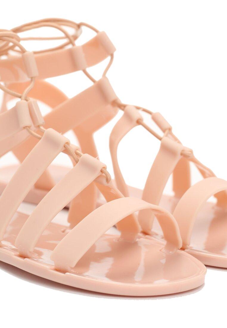 Beżowe Sandały Alexandra