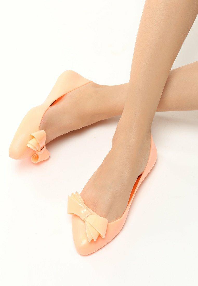 Pomarańczowe Baleriny Footloose