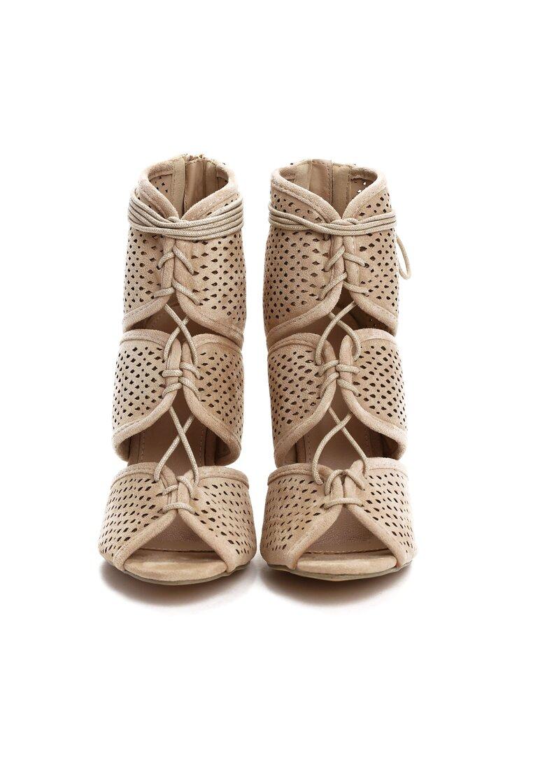 Beżowe Sandały Harper