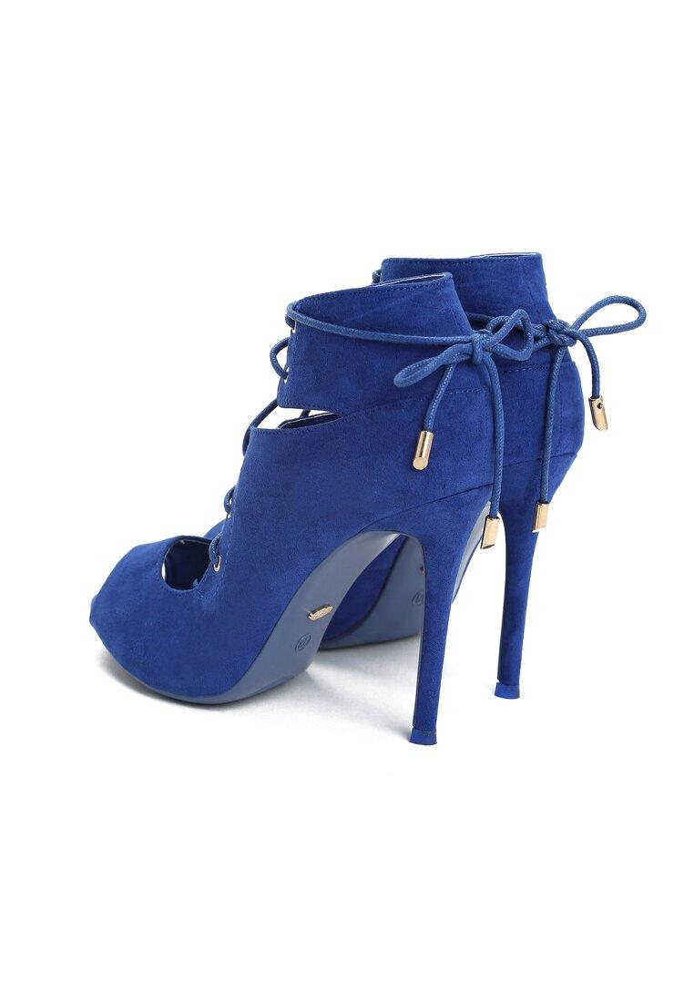 Kobaltowe Sandały Tia