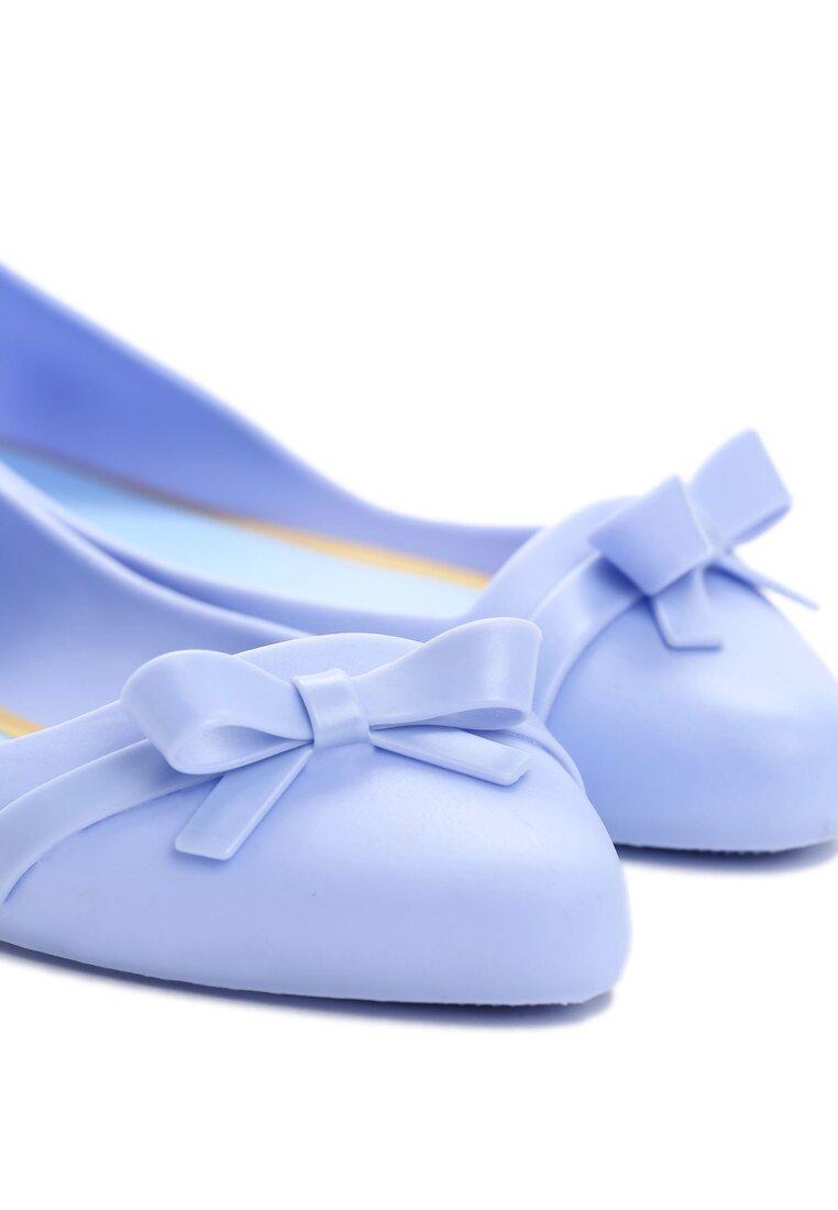 Niebieskie Balerinki Nova Chick