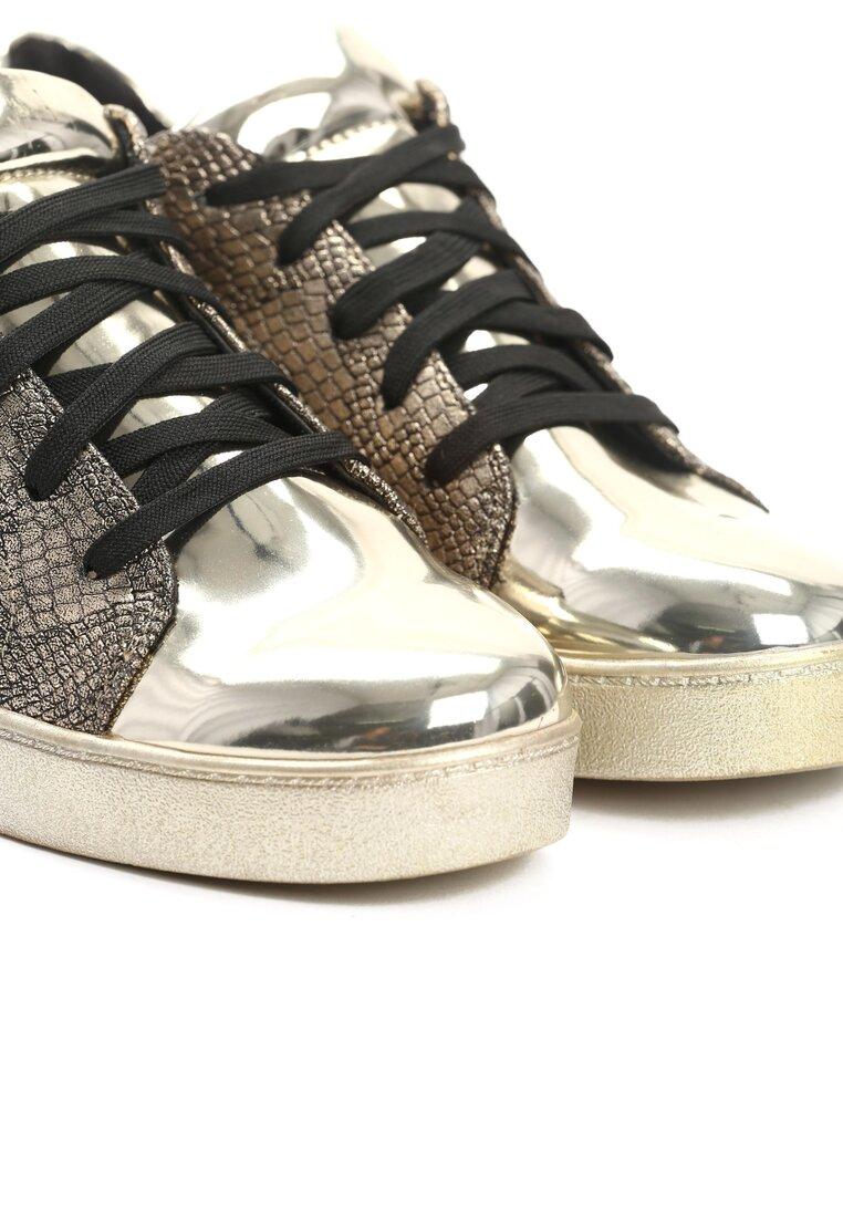 Złote Buty Sportowe Aquarius