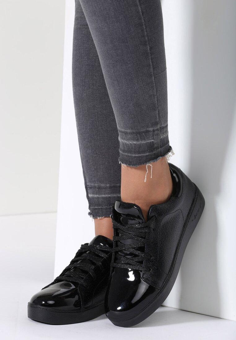 Czarne Buty Sportowe Ansel