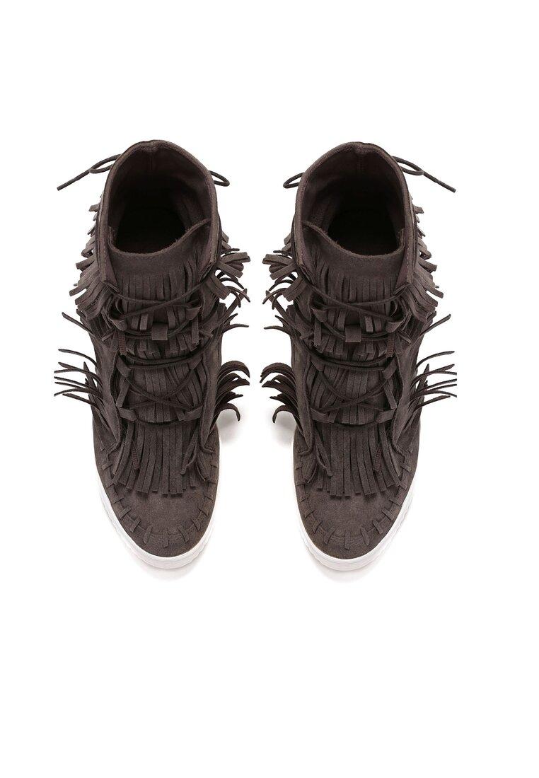 Ciemnoszare Sneakersy Ginny