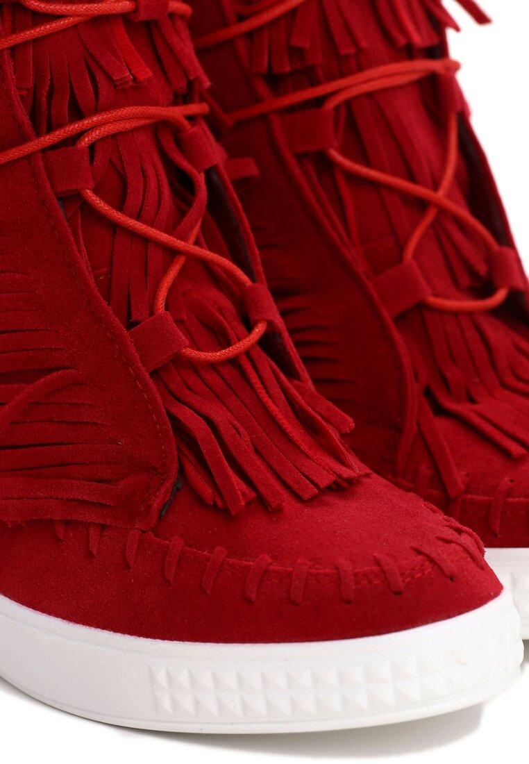 Czerwone Sneakersy Capital Letters