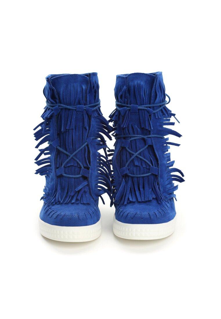 Kobaltowe Sneakersy Ginny