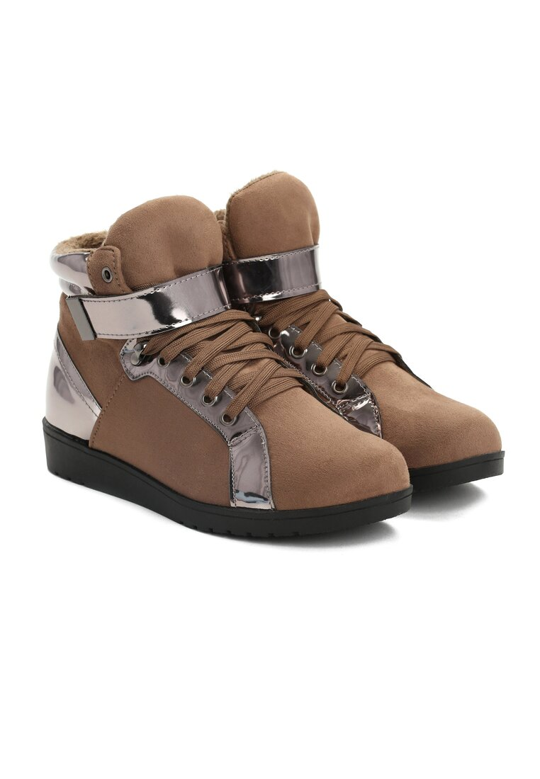 Khaki Sneakersy Stit