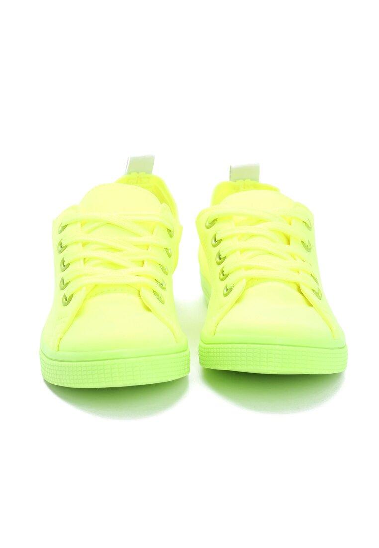 Limonkowe Tenisówki Higot