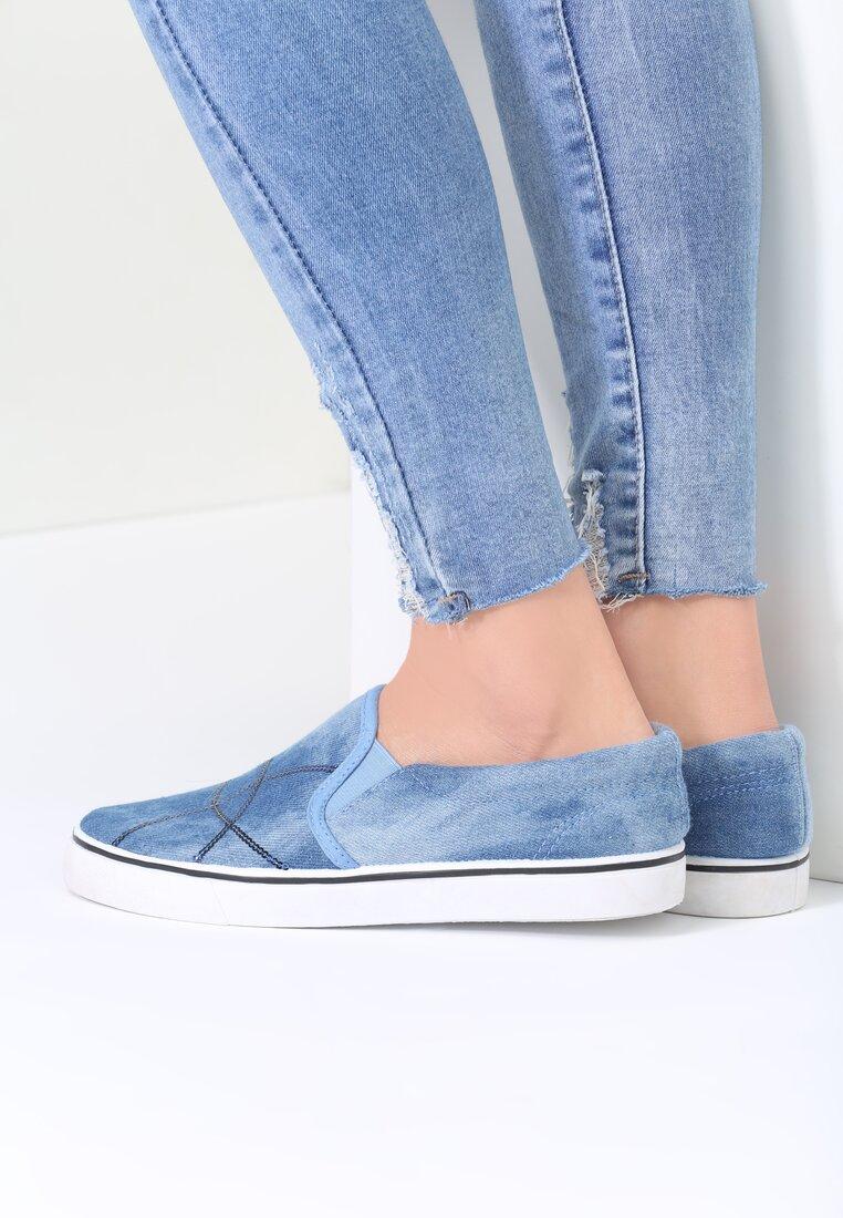 Niebieskie Slip On See You