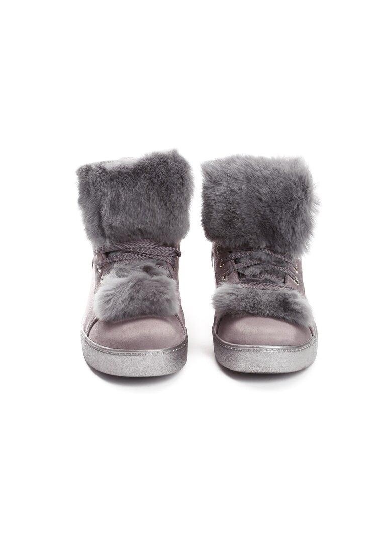 Szare Sneakersy Taryn