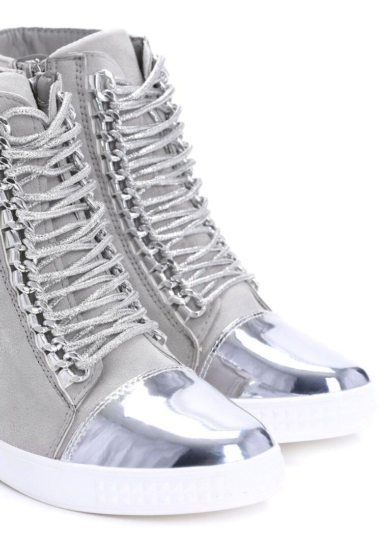 Szare Sneakersy Sorry