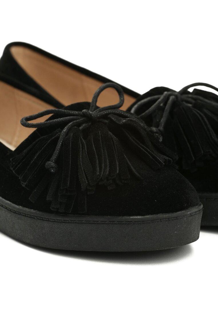Czarne Mokasyny Mildred