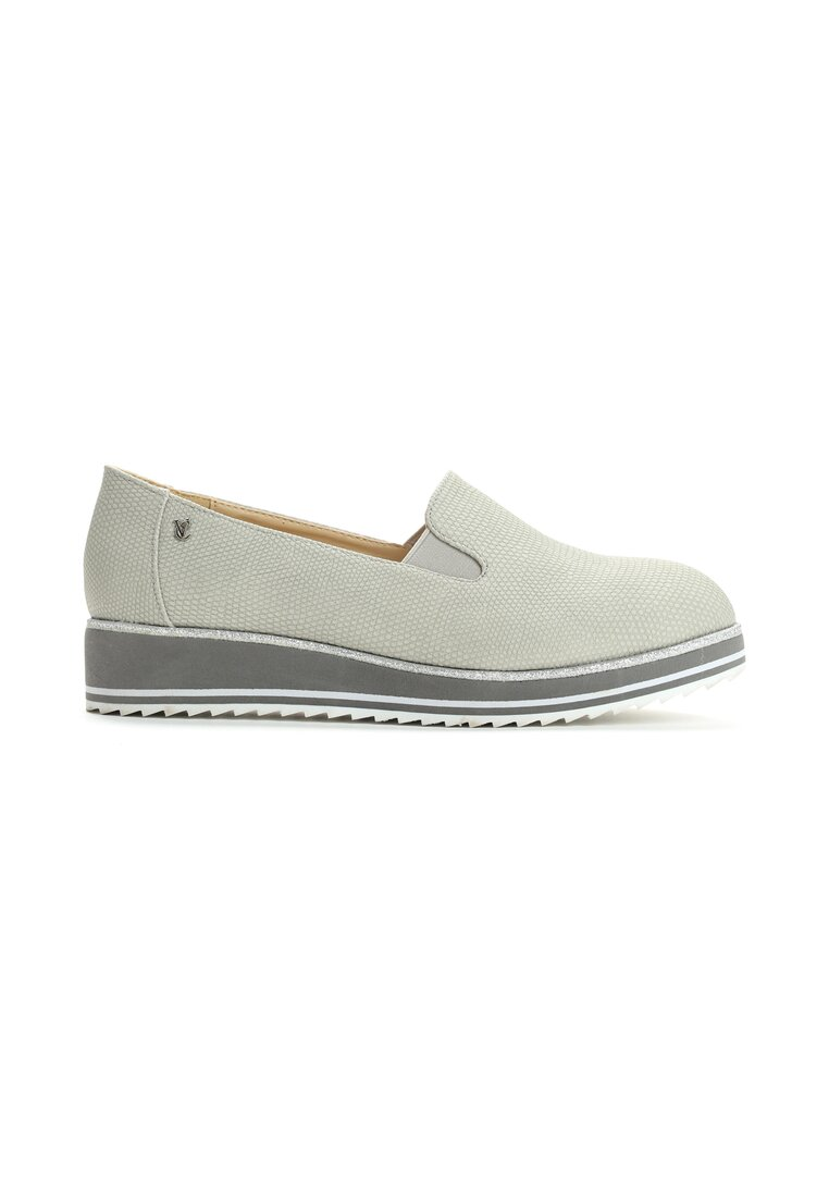 Szare Slip On Lemon Grass