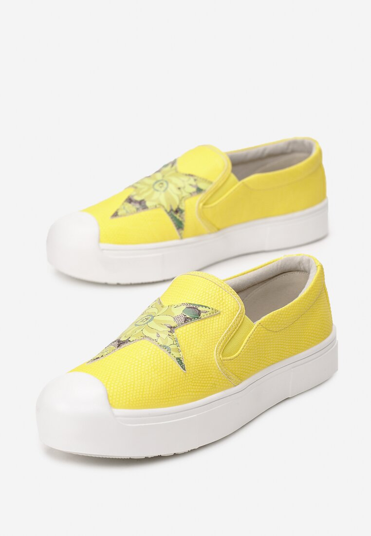 Żółte Slip On Nyota