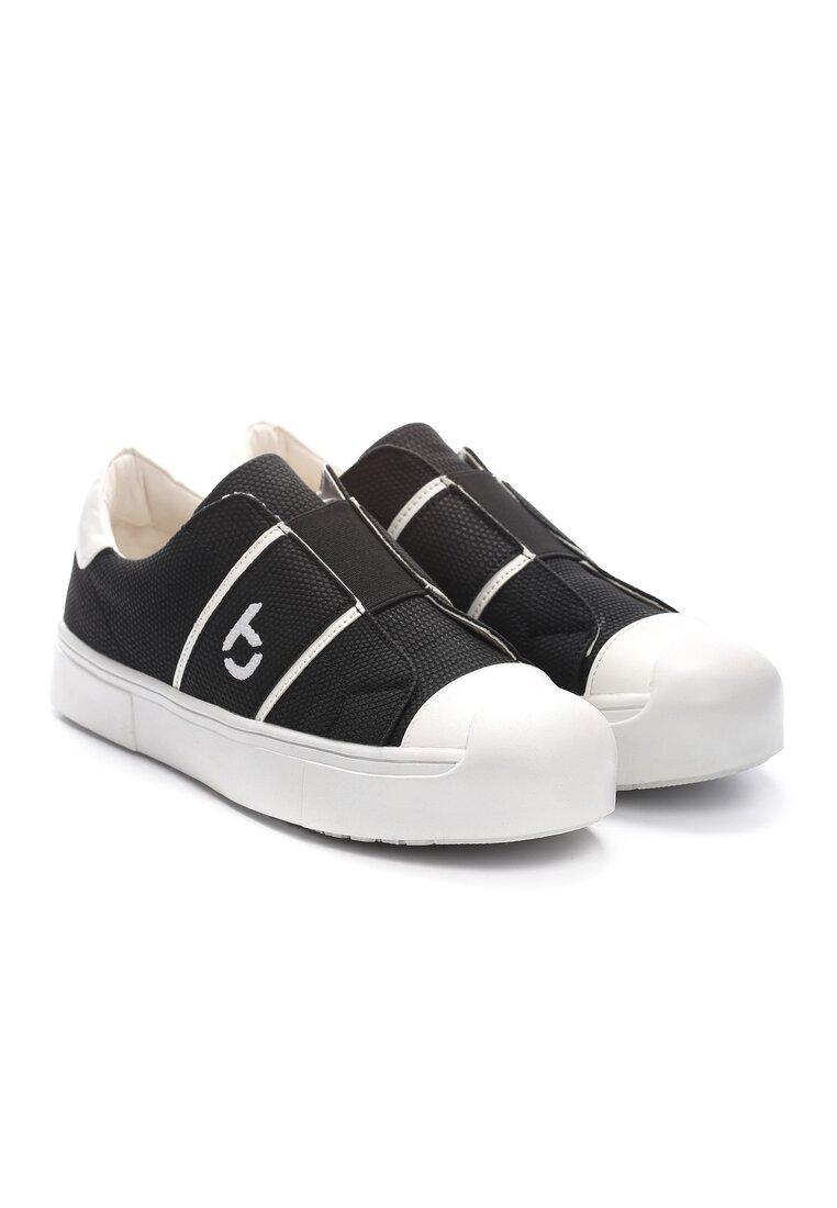 Czarne Buty Sportowe Yoko